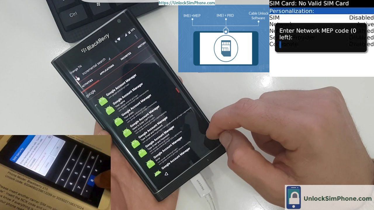 blackberry phone unlock soft