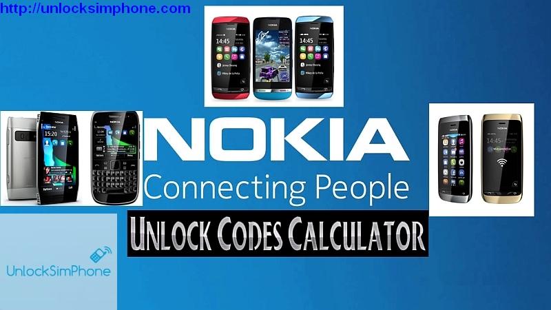 Nokia unlock code   Nokia IMEI Generator