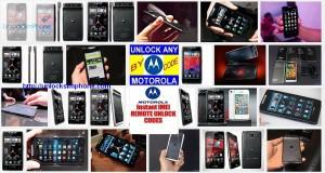 free unlocking motorola phone imei