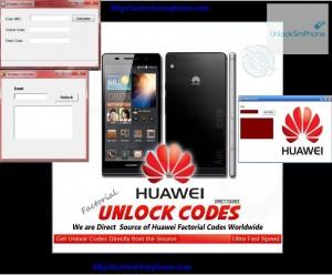 unlock imei huawei free