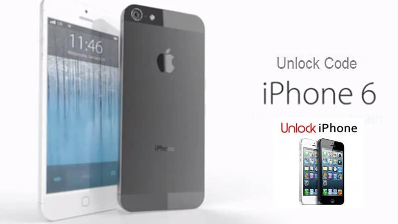 unlock code iphone