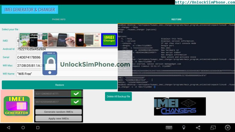 Android imei changer pro apk | Download XPOSED IMEI Changer
