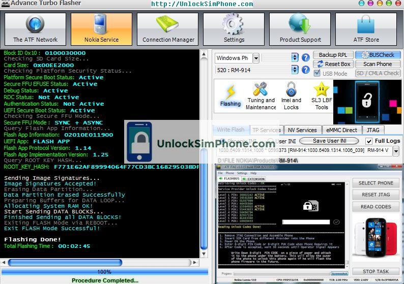 Lumia Code Generator by IMEI