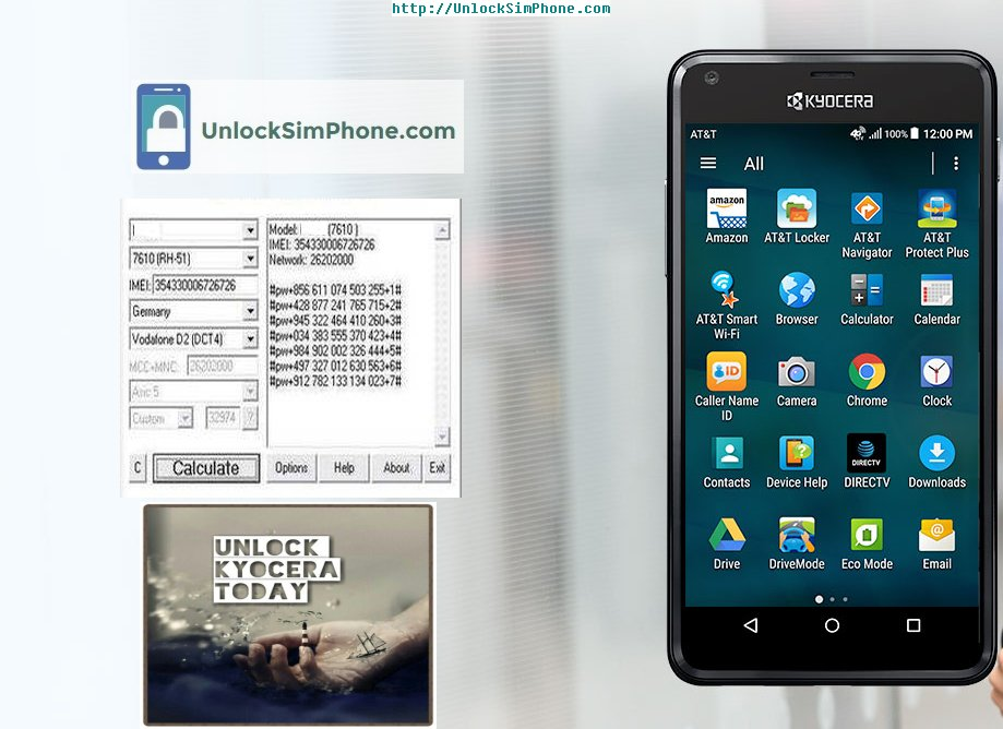Kyocera Mobile Unlock