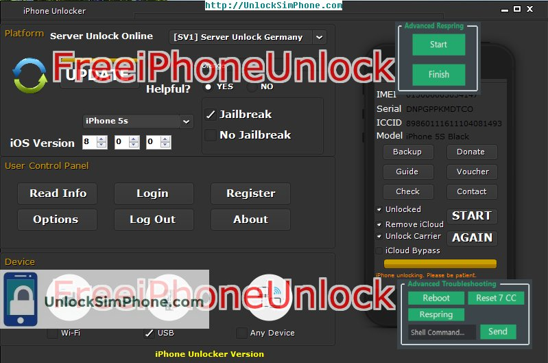 iphone unlocking generator