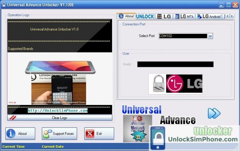 IMEI Unlock LG For Free