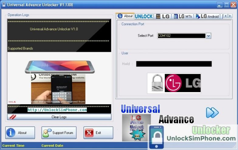 IMEI Unlock LG For Free