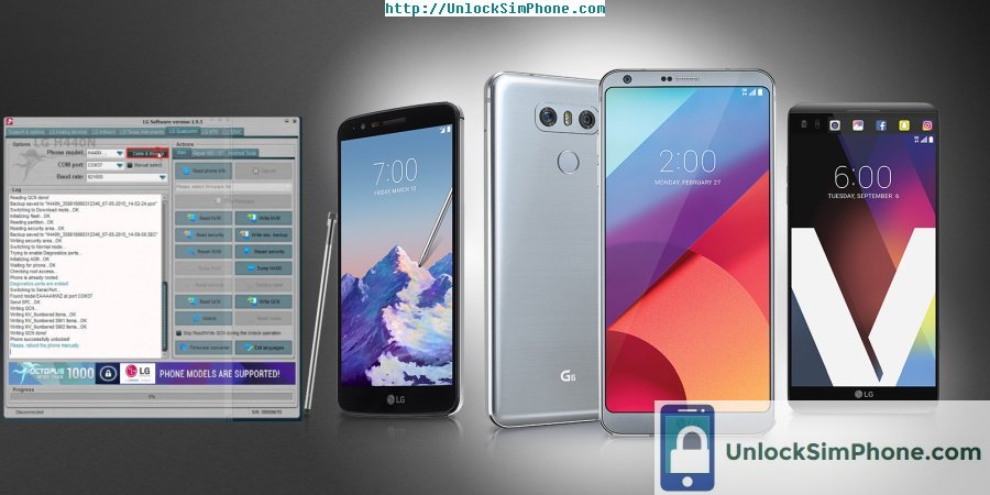 Unlocking Free LG Mobile Phone