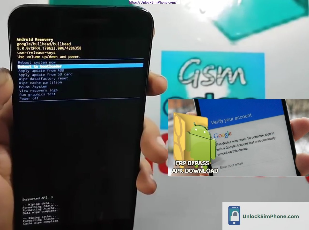 Factory Reset Protection | Android APK Tools | FRP Bypass