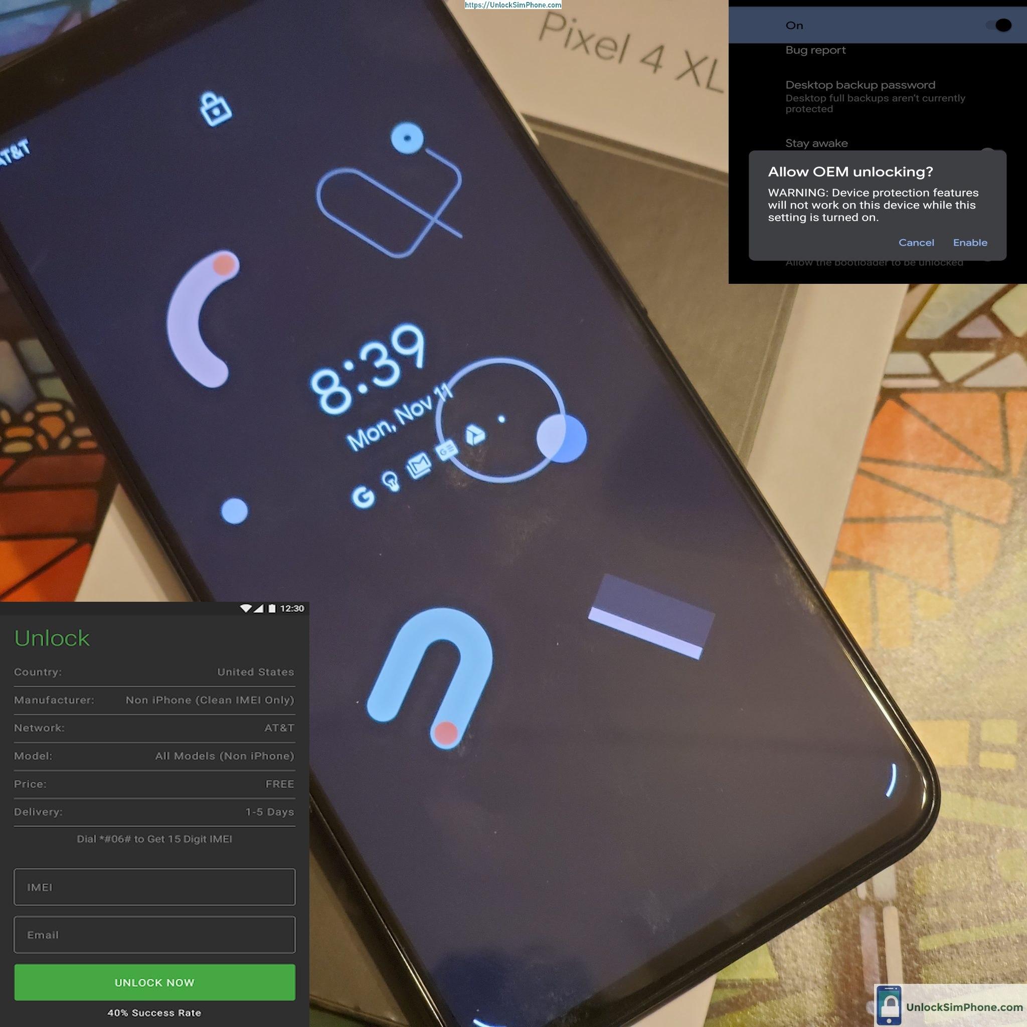 pixel phone decode